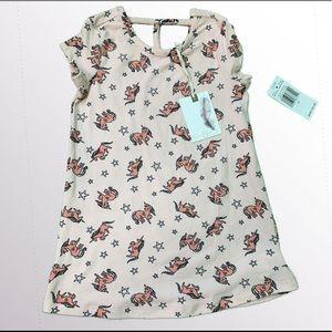 NWT Jessica Simpson Unicorn Dress 2T